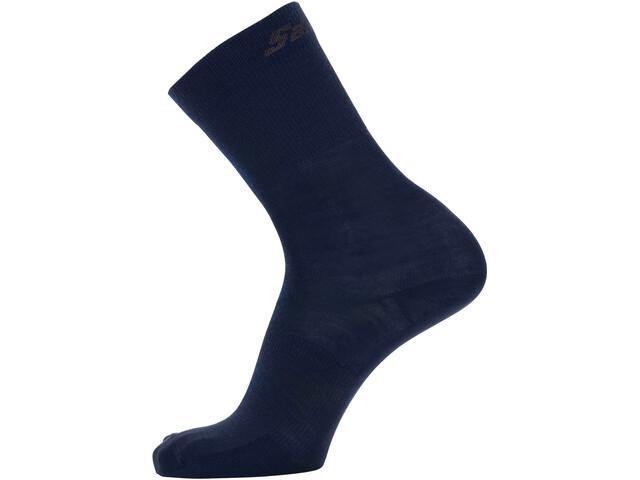 Santini Cycling Medium Wool Socks, azul